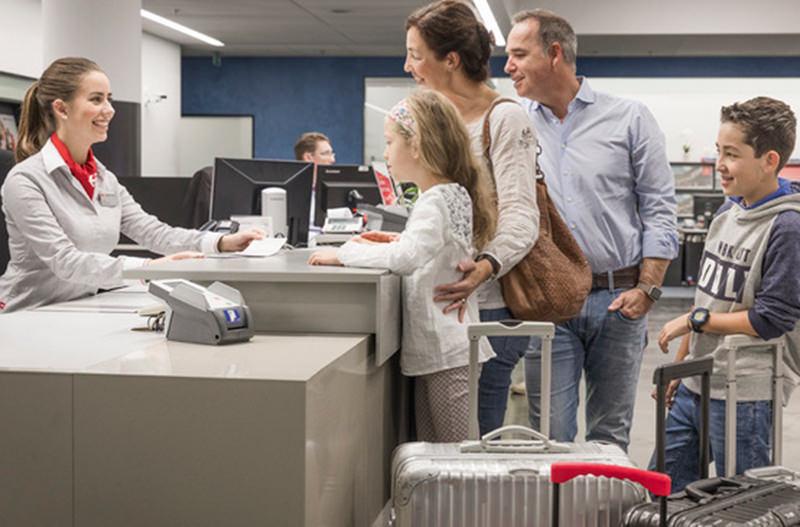 В Швейцарии можно отправить багаж в аэропорт прямо из отеля