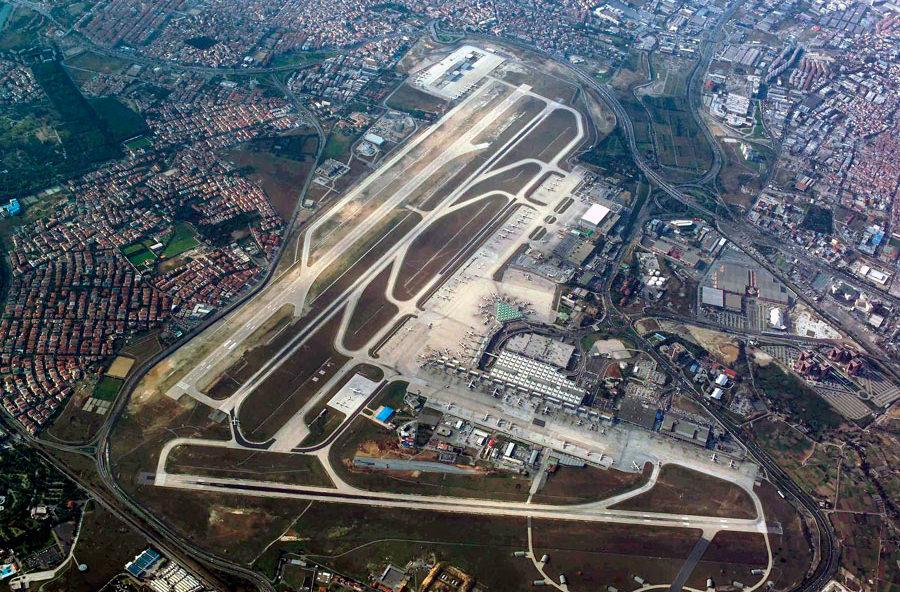 Аэропорт им. Ататюрка в Стамбуле станет садом