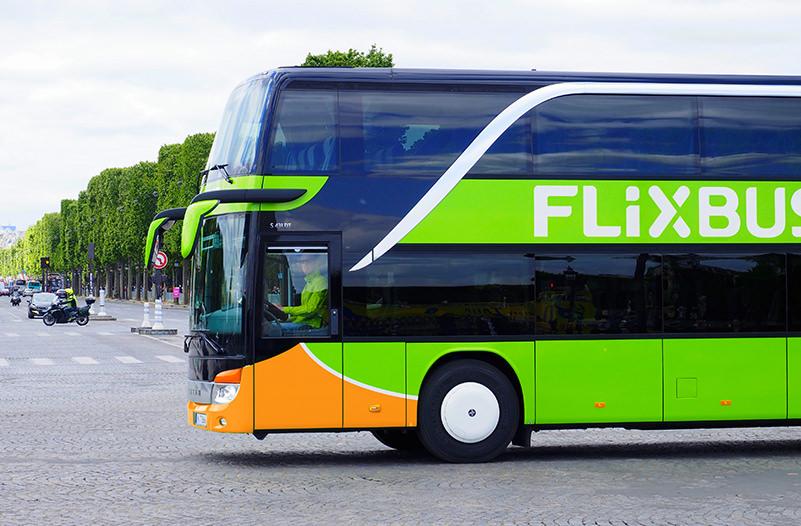 FlixBus открывает новые маршруты в США