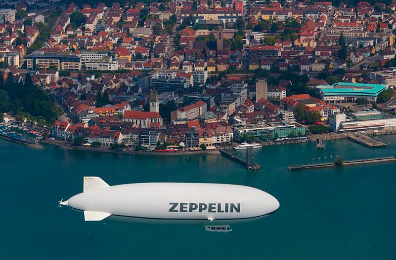 Над Боденским озером в Германии запустят дирижабль