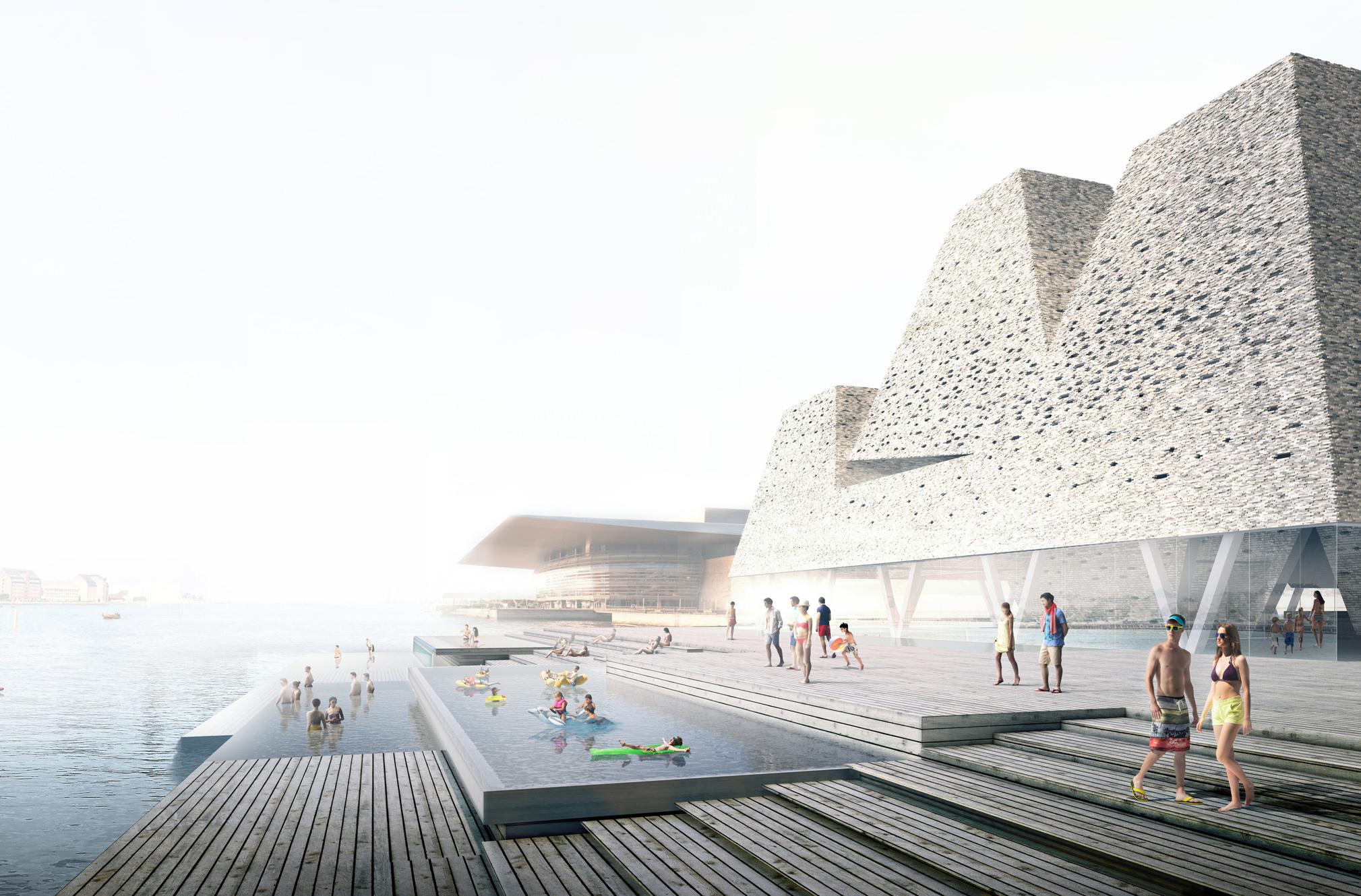 В Копенгагене построят футуристический аквапарк