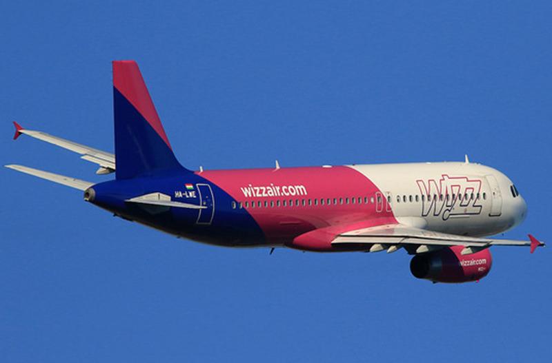 Wizz Air запускает новые рейсы из Кутаиси