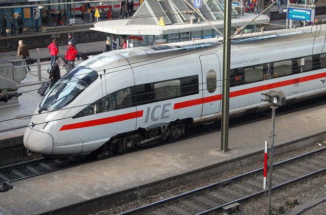 Железные дороги Германии запускают онлайн-регистрацию