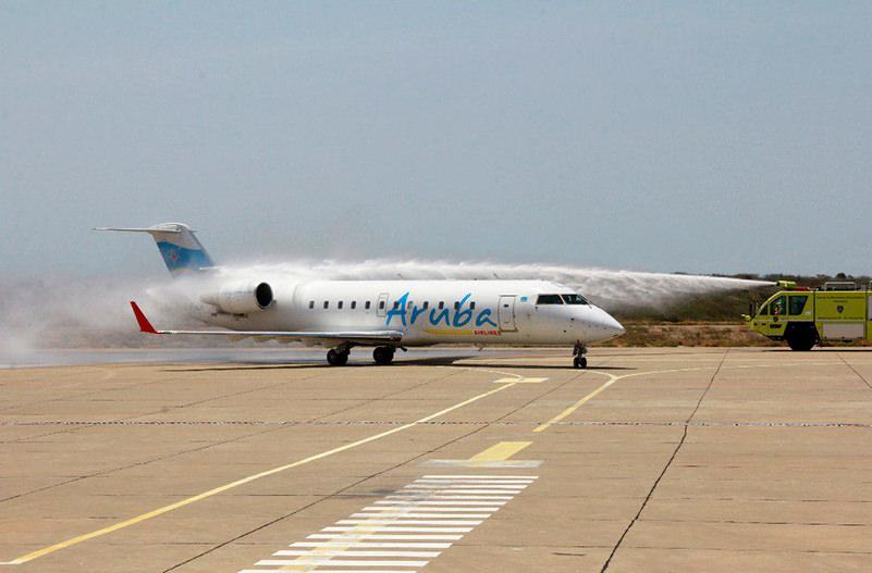Aruba Airlines запустила самый короткий международный рейс