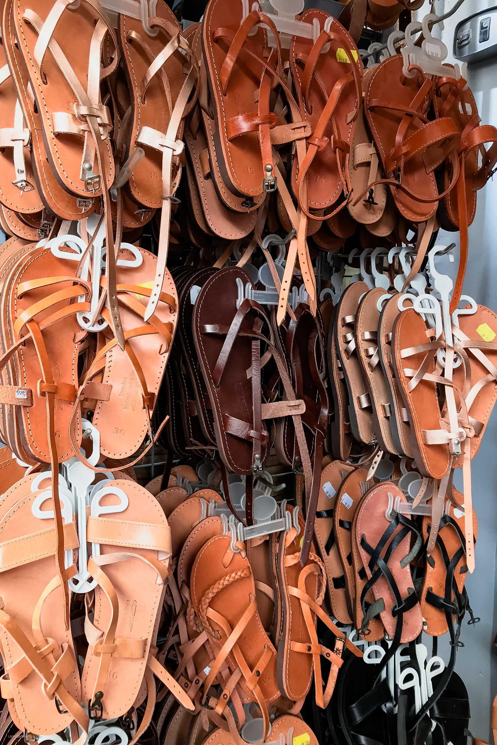 Центральный рынок Ханьи на Крите или что привезти из Греции