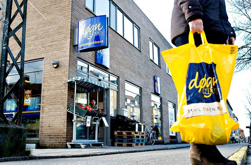 Датские супермаркеты возвращают деньги за полиэтиленовые пакеты