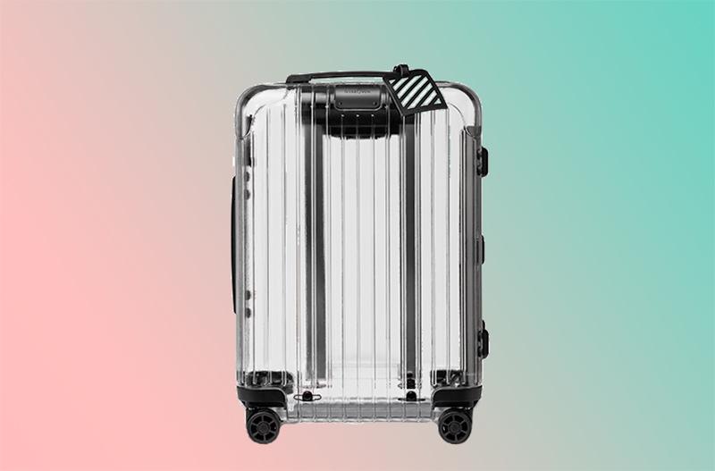 Дизайнеры создали полностью прозрачный чемодан
