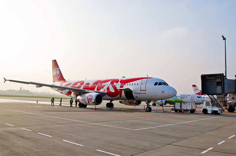 Ernest Airlines будет летать из Киева в Рим и Милан