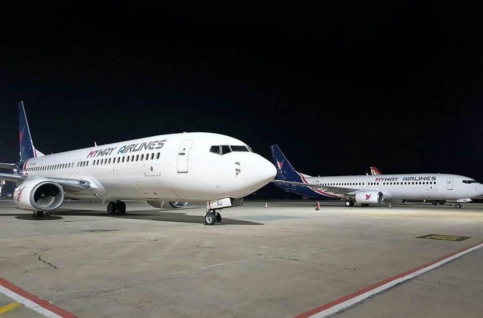 Новая грузинская авиакомпания Myway Airlines будет летать в Украину