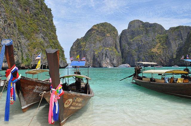 Пляж Майя Бей в Таиланде ограничат для посещений