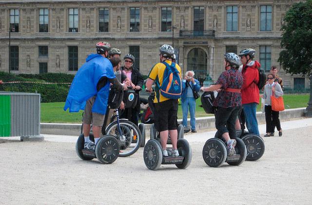 В Будапеште вводят запрет на сегвеи и скутеры