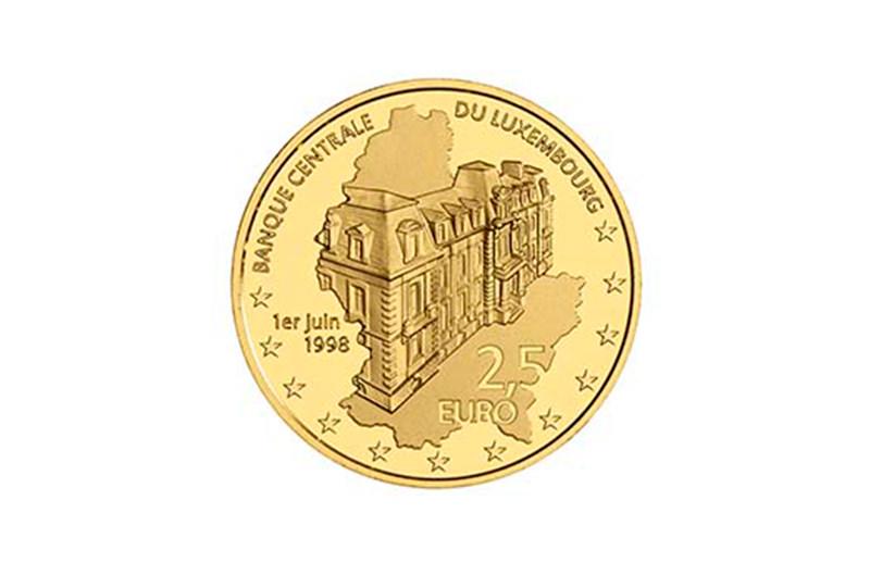 В Люксембурге выпустили монету номиналом 2,5€