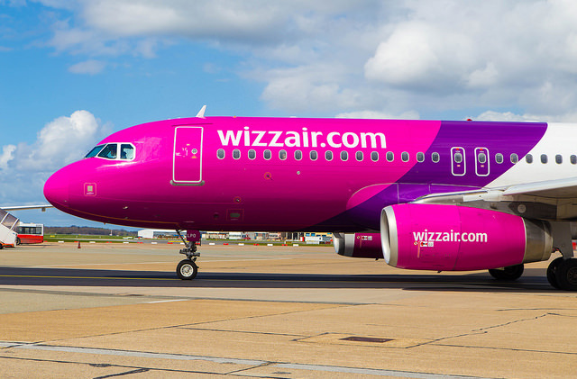 Wizz Air запустил новые рейсы из Украины