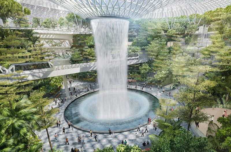Аэропорт Чанги в Сингапуре добавит больше удобств для пассажиров