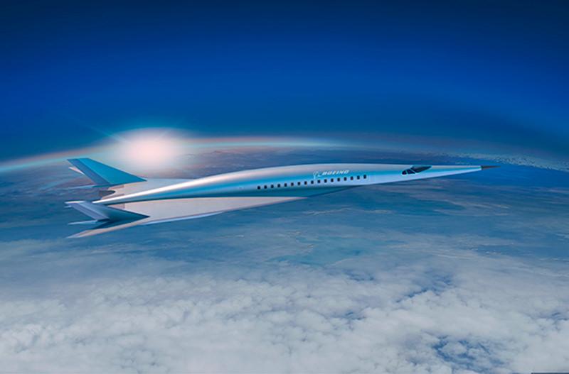 Boeing разрабатывает сверхзвуковой пассажирский лайнер