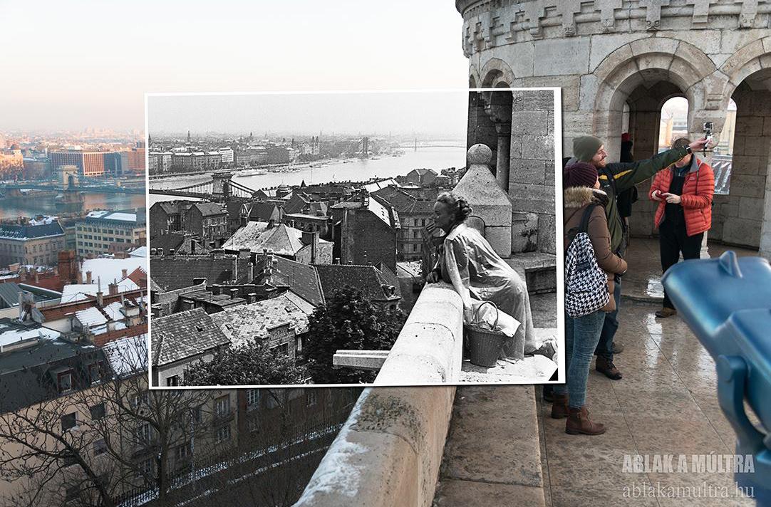 Фотограф переснял фото старого Будапешта