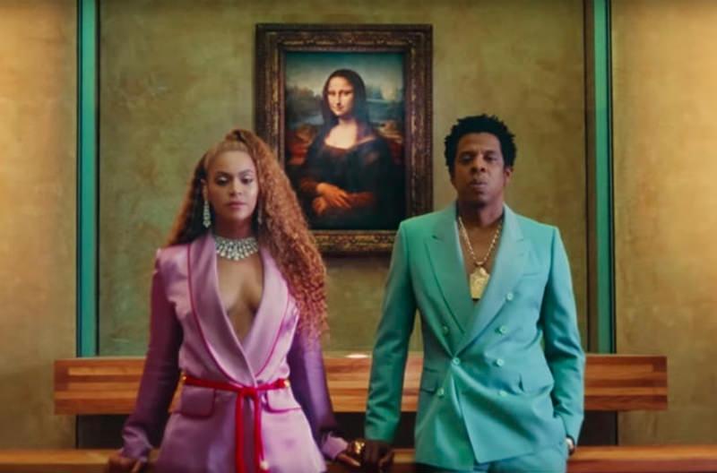 Лувр проводит туры по мотивам нового клипа Beyonce и Jay-Z
