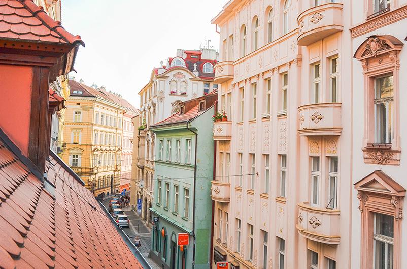 В центре Праги ограничат движение велосипедов