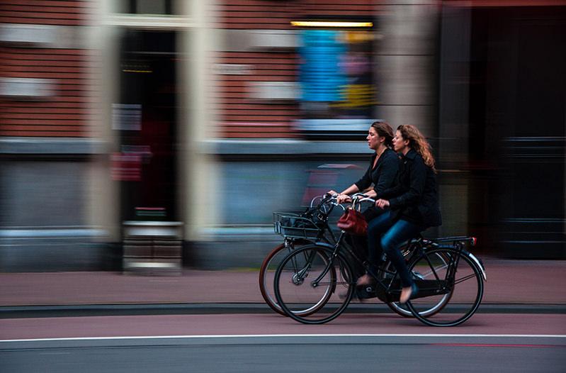 В центре Праги сняли запрет на велосипеды