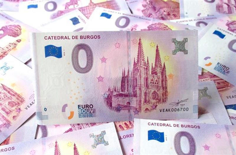 В Испании выпустили купюру номиналом 0 евро