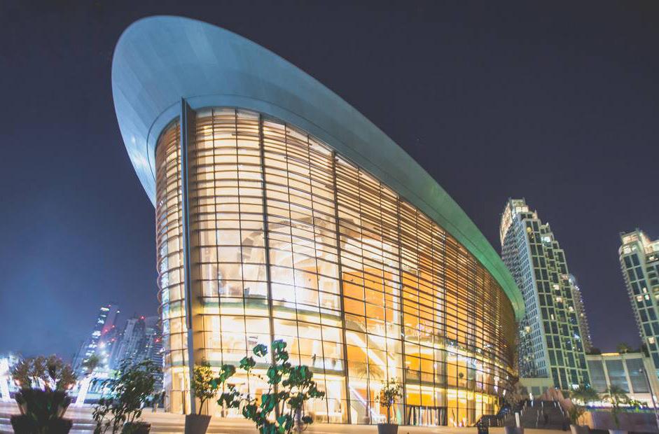 В оперном театре Дубая открылась площадка для бизнес-встреч