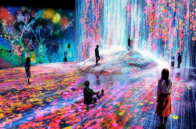 В Токио открылась самая инстаграмная выставка в мире