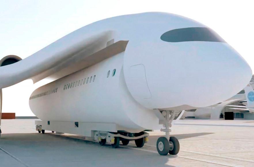 Во Франции разрабатывают самолёт-поезд