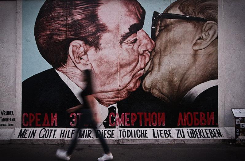 Берлинскую стену восстановят для арт-инсталляции