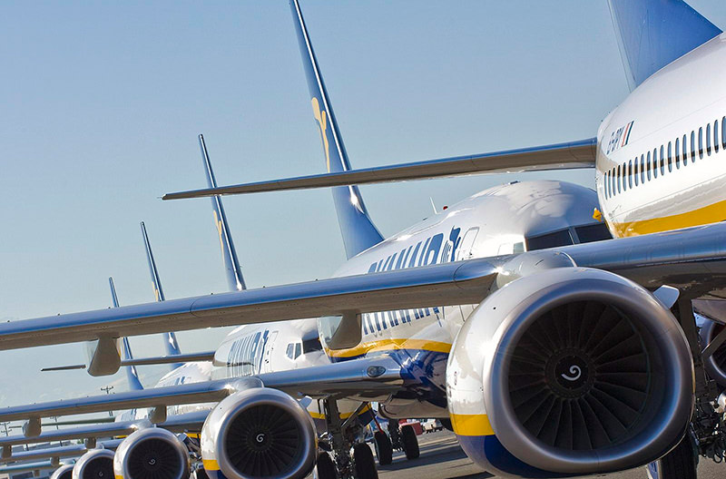 Ryanair распродаёт билеты со скидкой в 20€