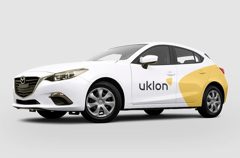 Сервис заказа такси Uklon обновил дизайн бренда