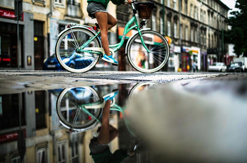 В Барселоне запретят велосипедное движение на тротуарах