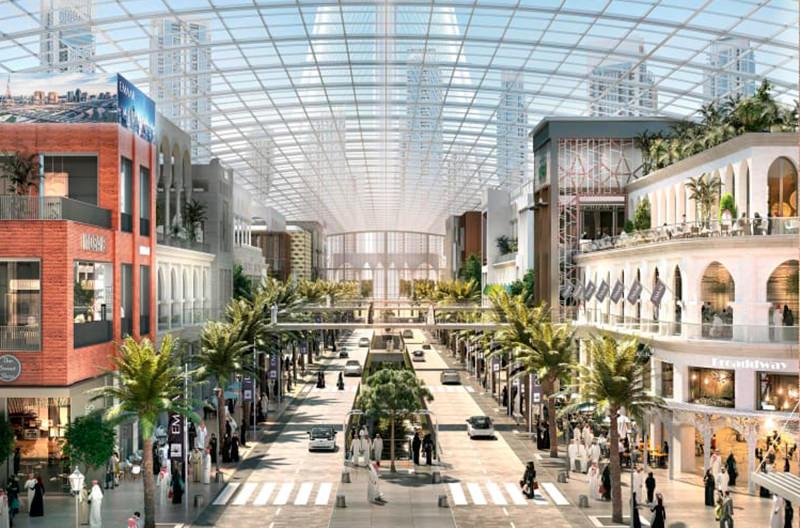В Дубае построят самый большой торговый центр мира
