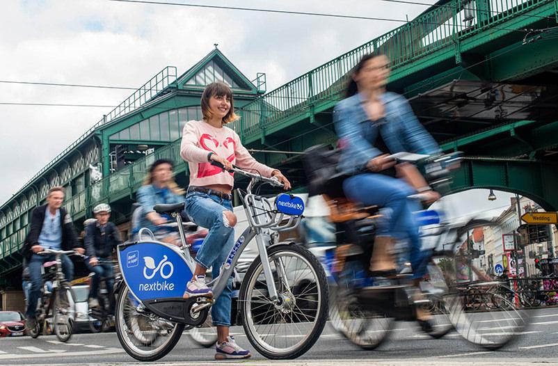 В Киеве появился сервис аренды городских велосипедов