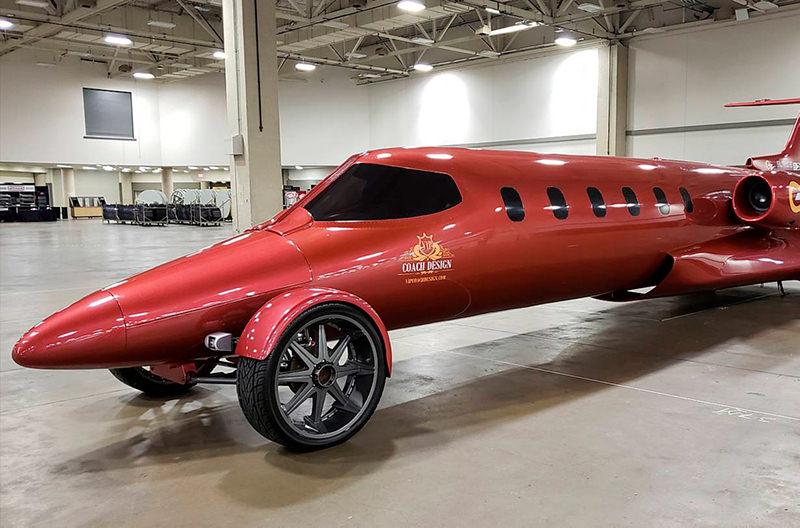 В США самолёт переделали в лимузин