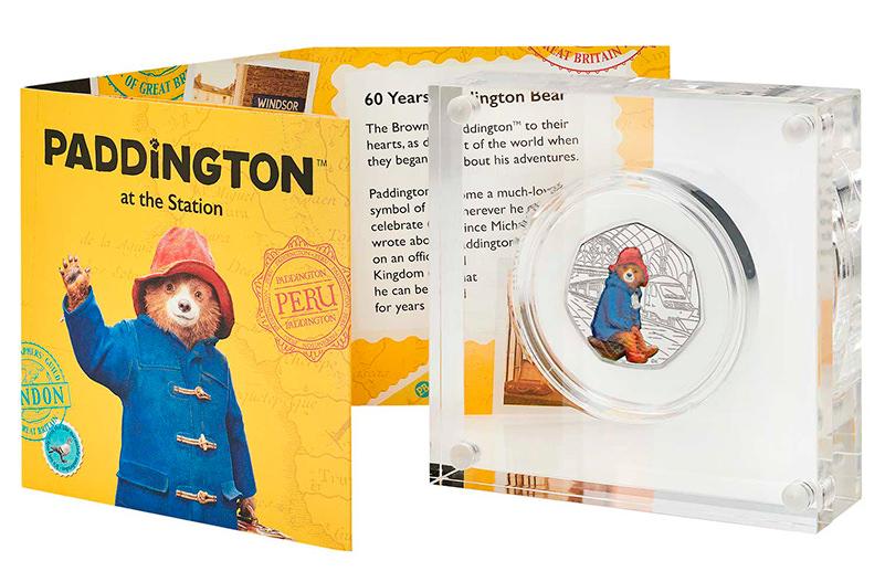 В Великобритании выпустили монету в честь медвежонка Паддингтона