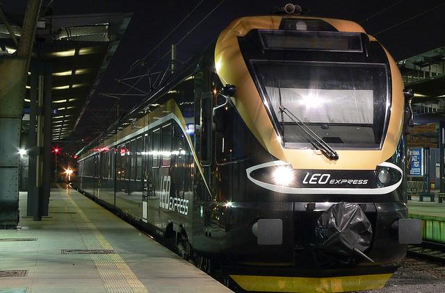 Leo Express планирует запустить поезда из Праги в Берлин
