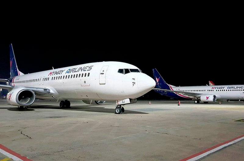 MyWay Airlines будет летать из Киева в Тбилиси