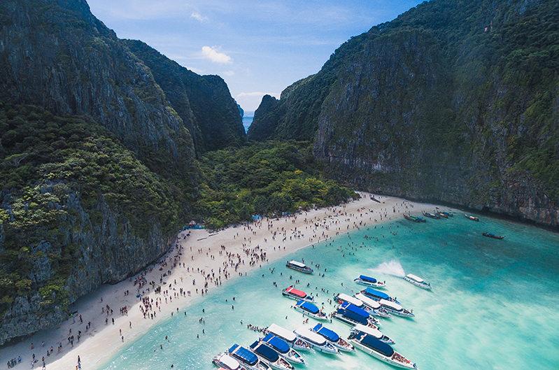 Пляж Майя Бей в Таиланде откроется для туристов в ноябре