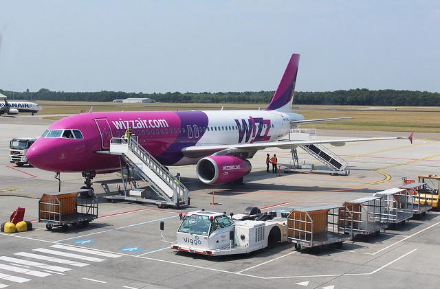 У Wizz Air появилась возможность отслеживать потерянный багаж