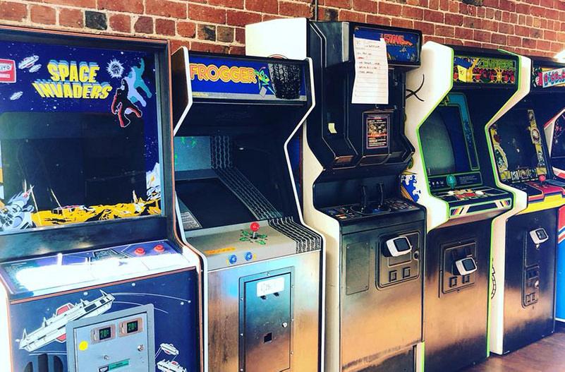 В Австралии открылся бар винтажных игровых автоматов