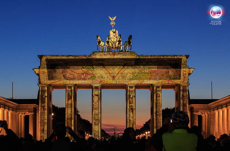 В Берлине пройдет фестиваль света