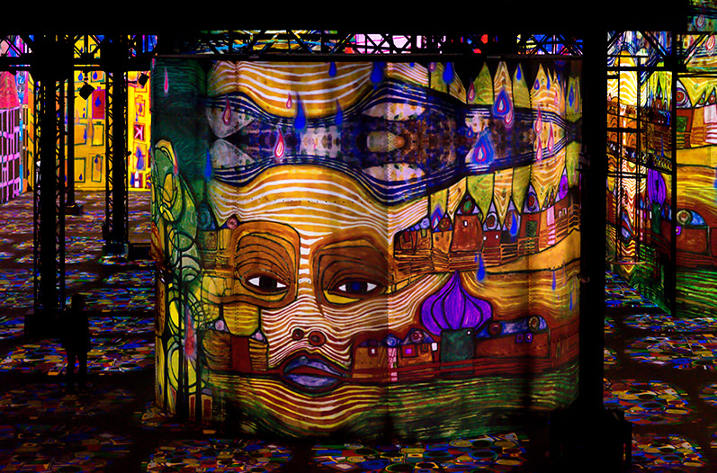 В Париже открылся цифровой музей искусства