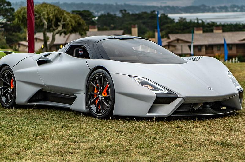 В США показали самый быстрый суперкар