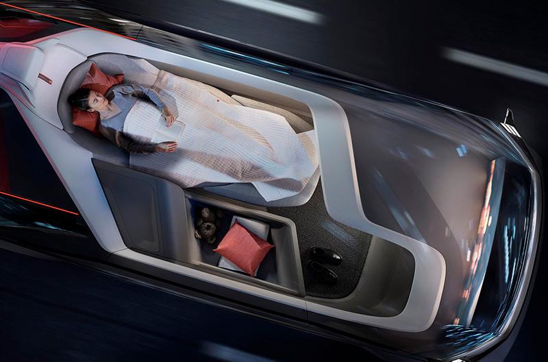 В Volvo разрабатывают городской дом на колесах