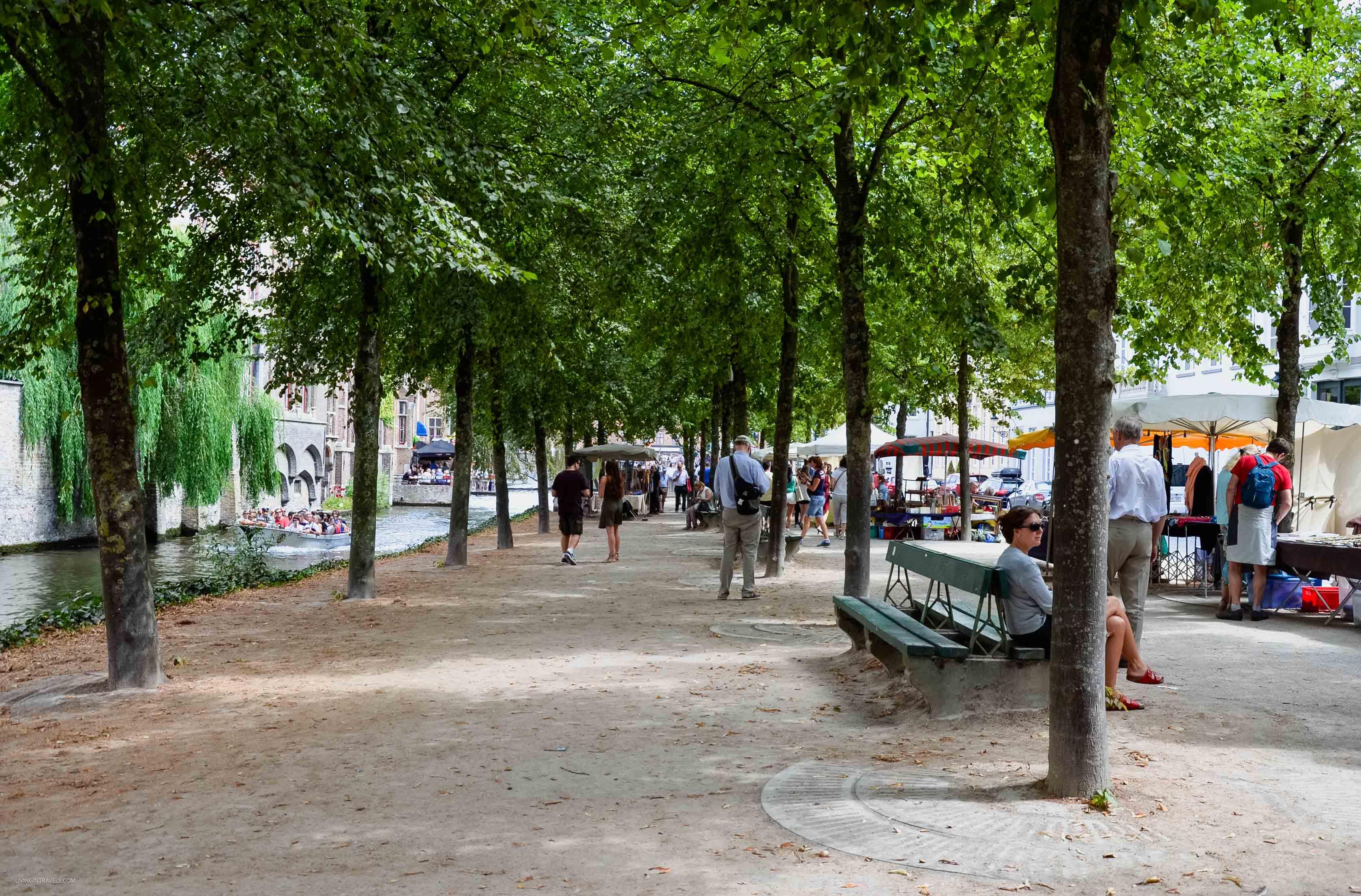 Блошиный рынок Брюгге или что везти домой кроме бельгийского пива