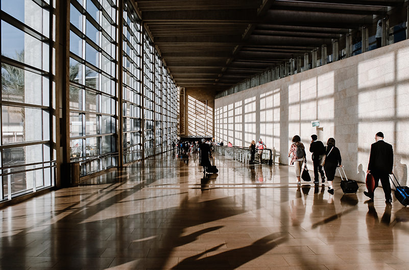 Названы аэропорты с лучшей развязкой