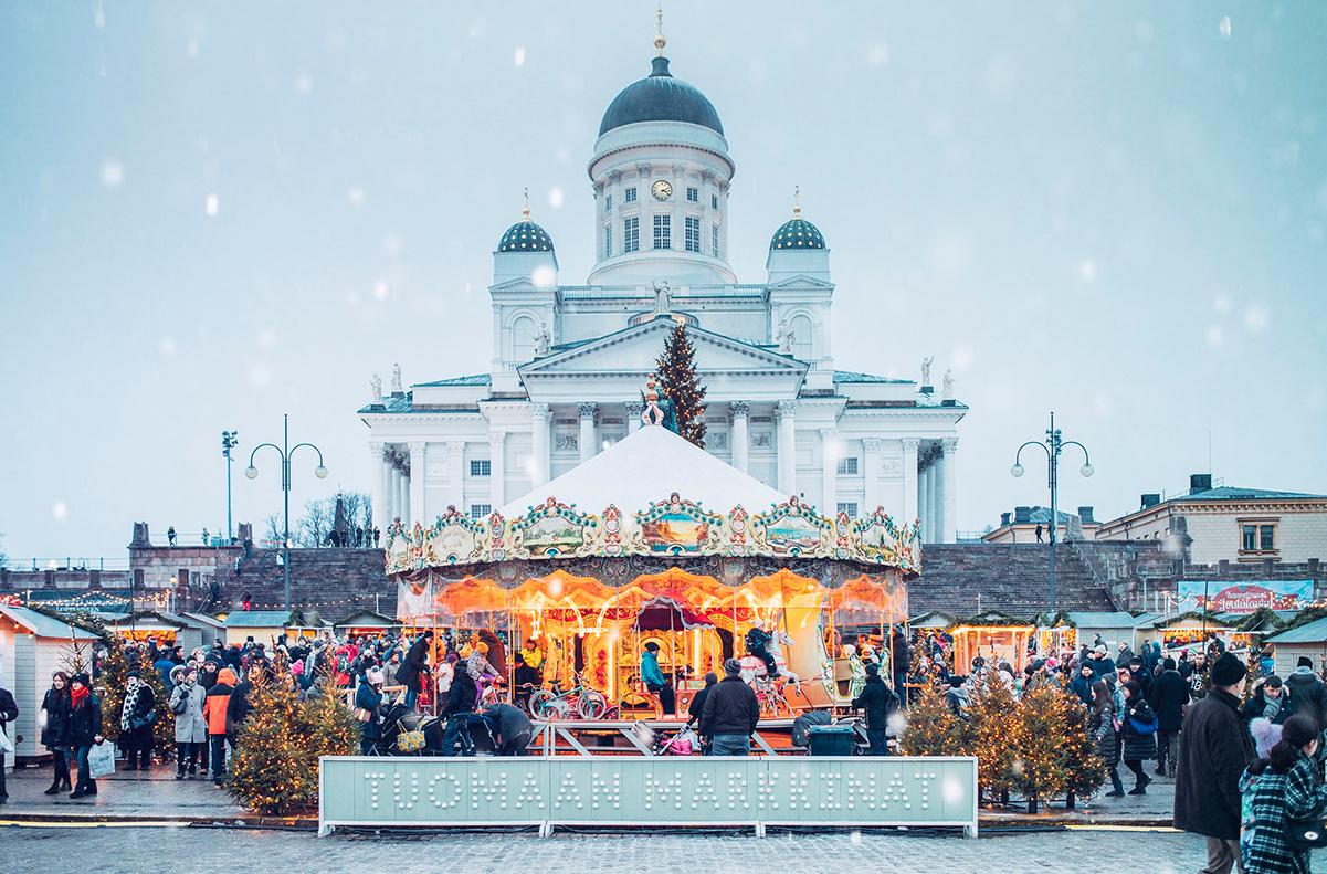 почти другой рождественские ярмарки в хельсинки фото традиции