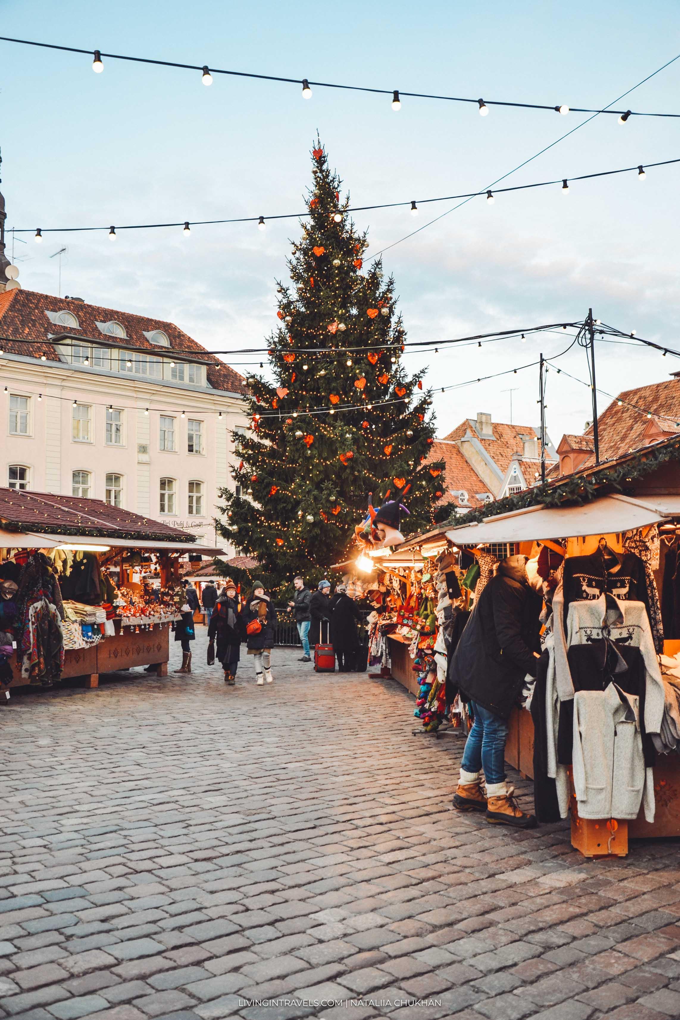Рождественская ярмарка Таллинна: что купить и что попробовать