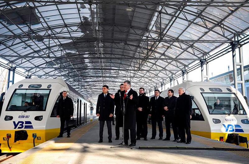 Укрзалізниця изменила расписание движения экспресса Киев-Борисполь