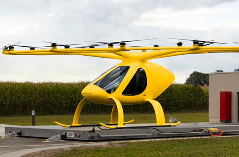 Воздушное такси Volocopter испытают в качестве скорой помощи